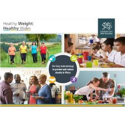 Healthy Weight Wales Report Cover